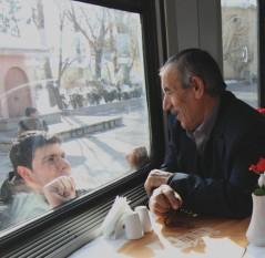Turchia: Cappadocia. Il treno dell'Est, nella neve verso Kars