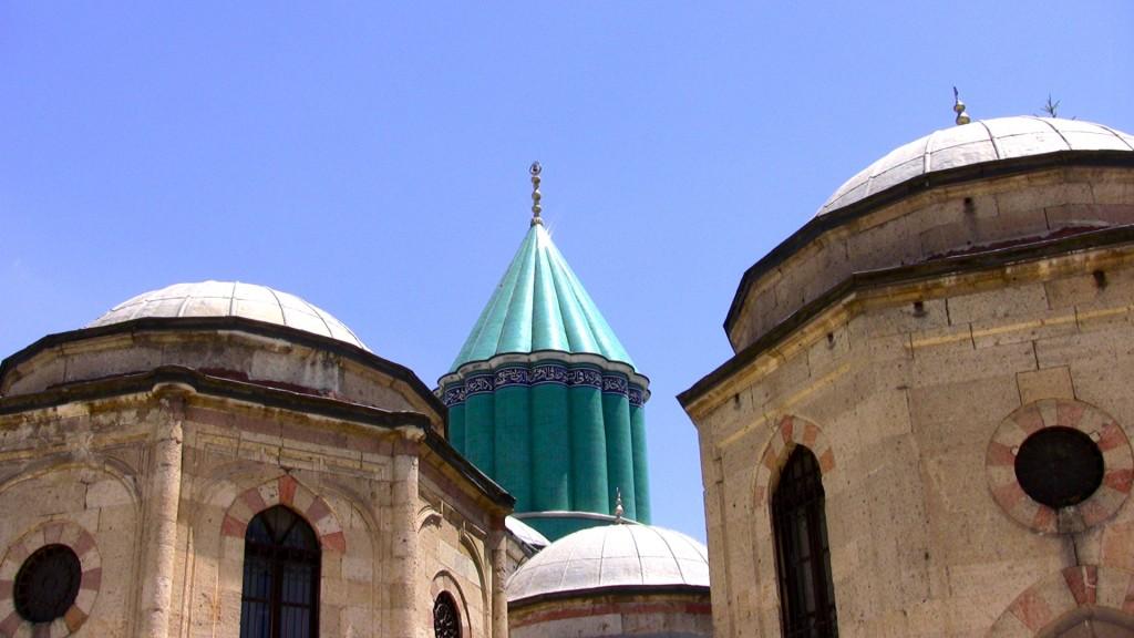 Turchia Konya Il santuario di Mevlana