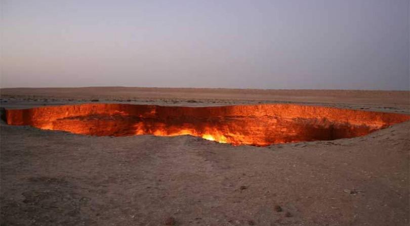 """Turkmenistan: Viaggio fino alla """"Porta dell'Inferno"""""""