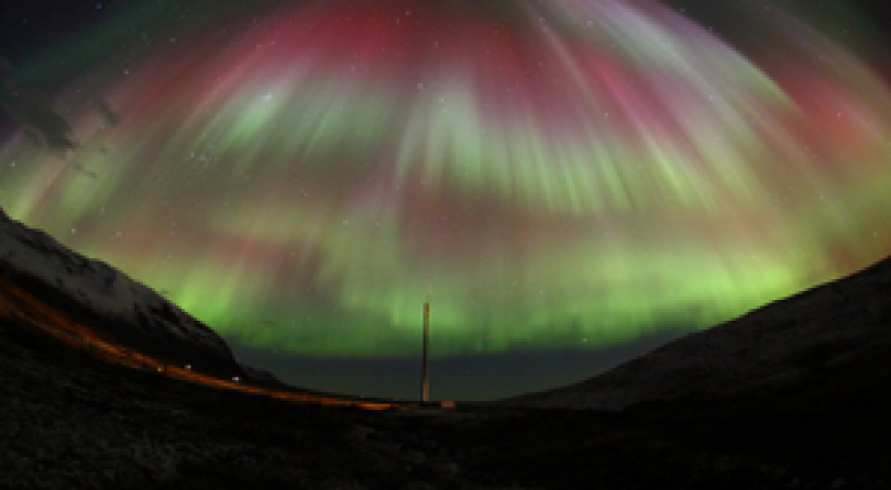 Islanda: Aurora Boreale nel Cielo Islandese