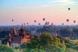 Nella magia del Myanmar