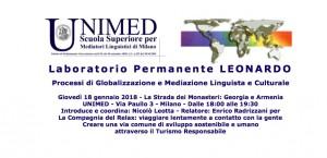 Laboratorio Permanente Leonardo Unimed 18 gennaio 2018