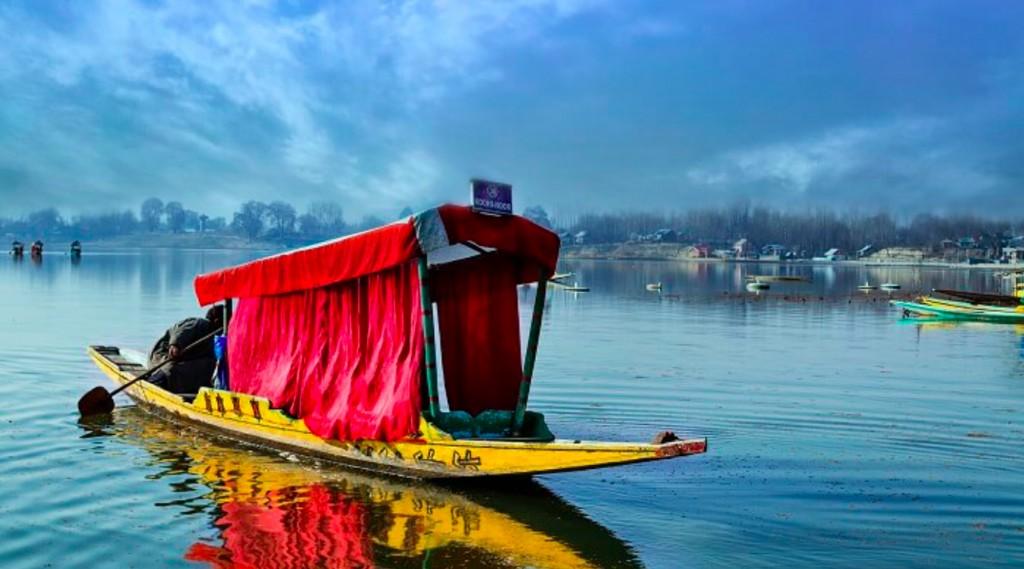 India, Kashmir, lago Dal, Srinagar