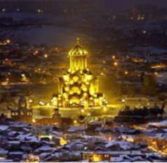 Georgia, Tbilisi: magia di capodanno